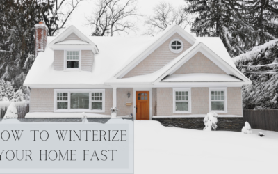 How to Winterize Your Home FAST