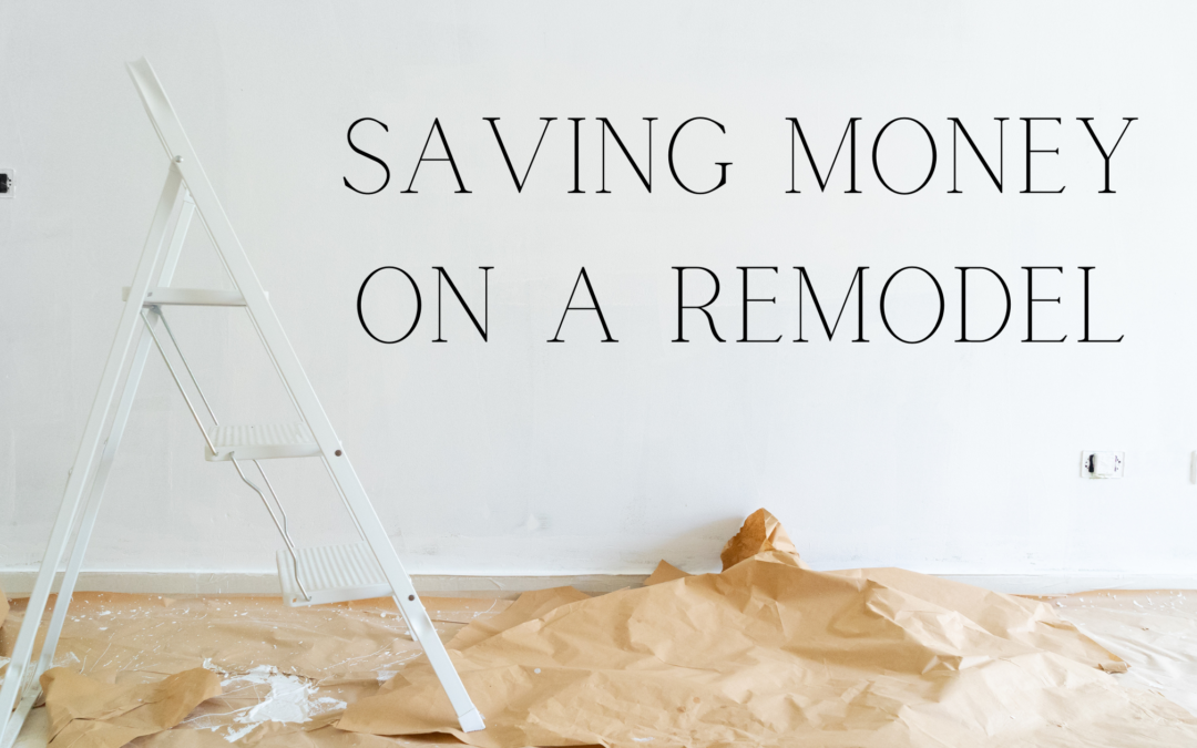 5 Easy Ways to Save Money on a Remodel
