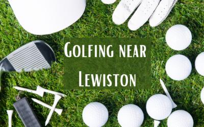 Golfing Near Lewiston