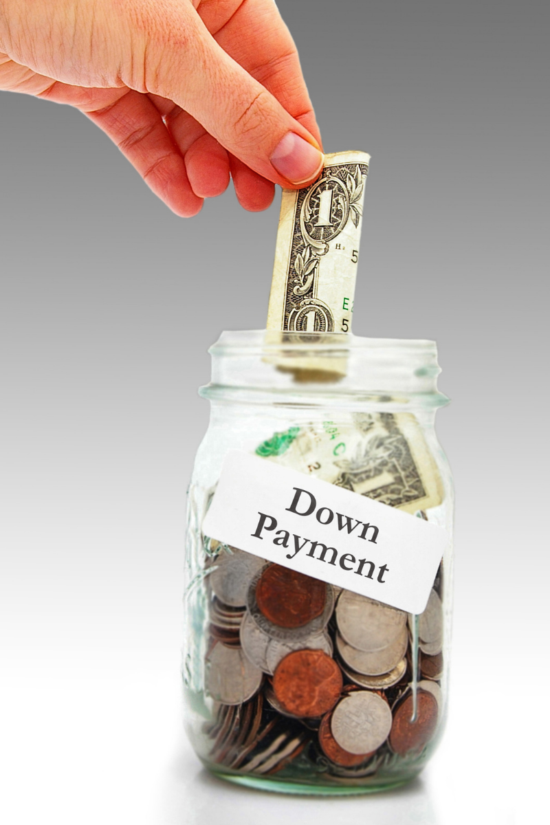 real estate down payment