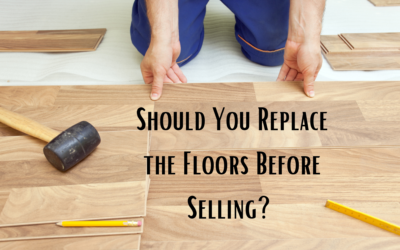 Should you Replace the Floors or Offer a Credit When Selling?