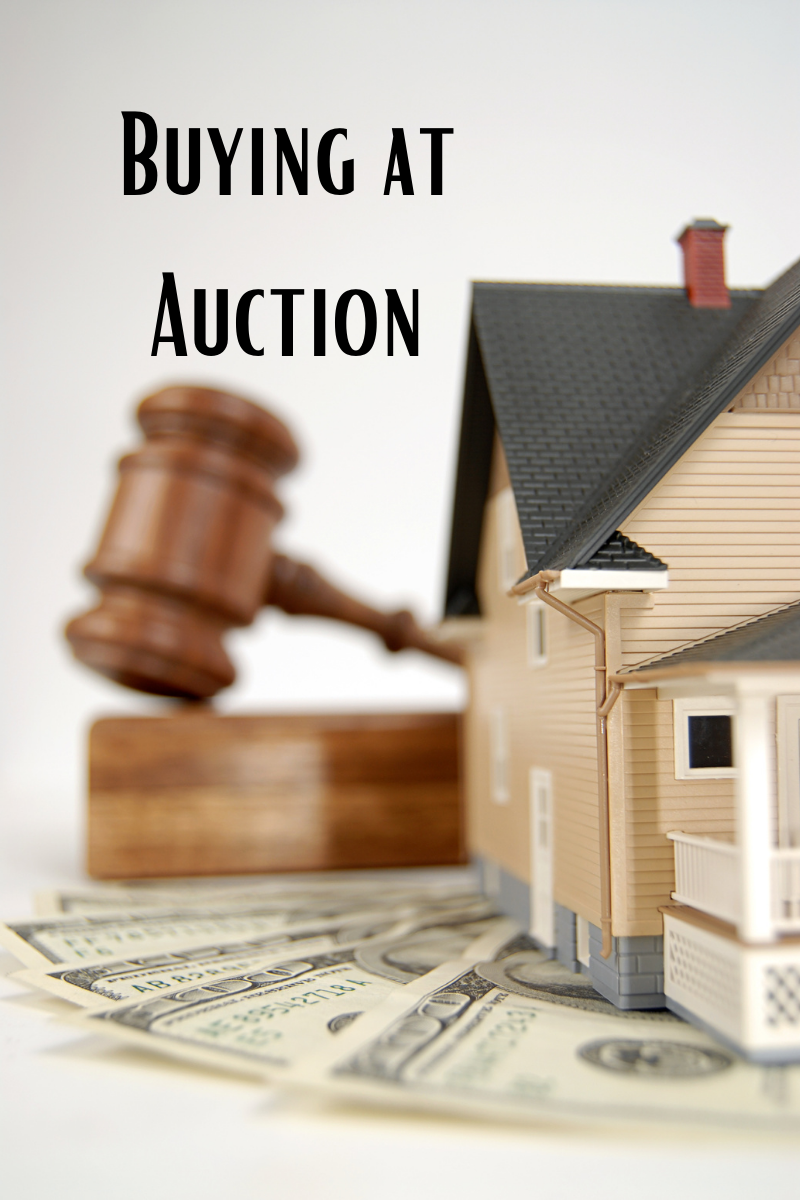 foreclosed home auction