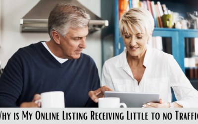 Why is my Online Listing Receiving Little to No Traffic?