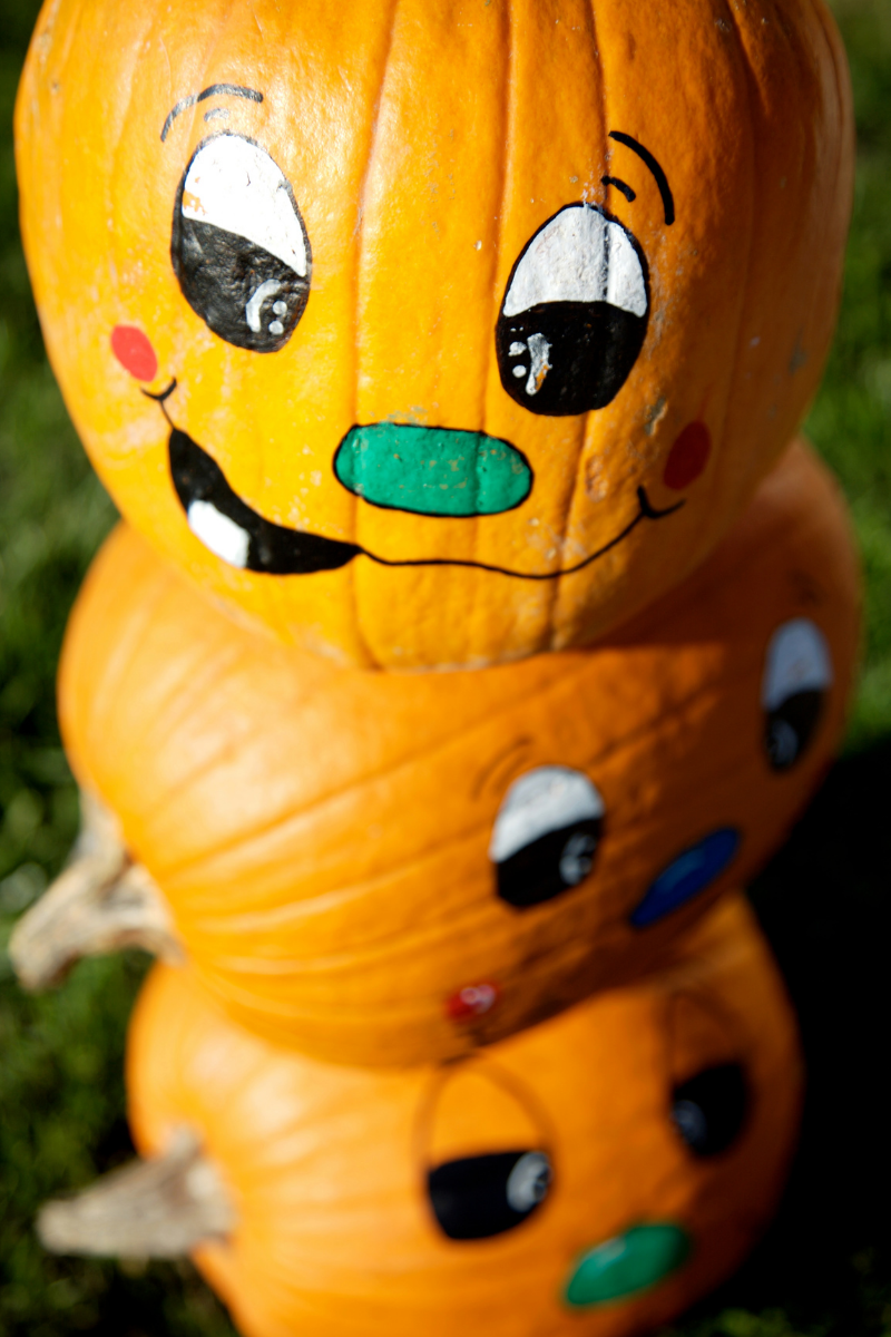 """Pumpkin Painting, the New Way to """"Carve"""" Your Pumpkin"""